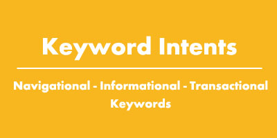 Keyword Intents