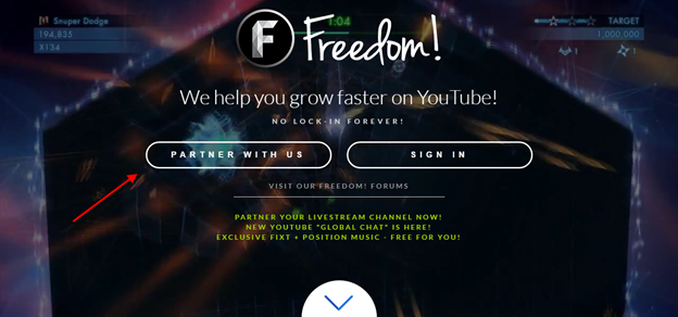Freedom Partnership Signup