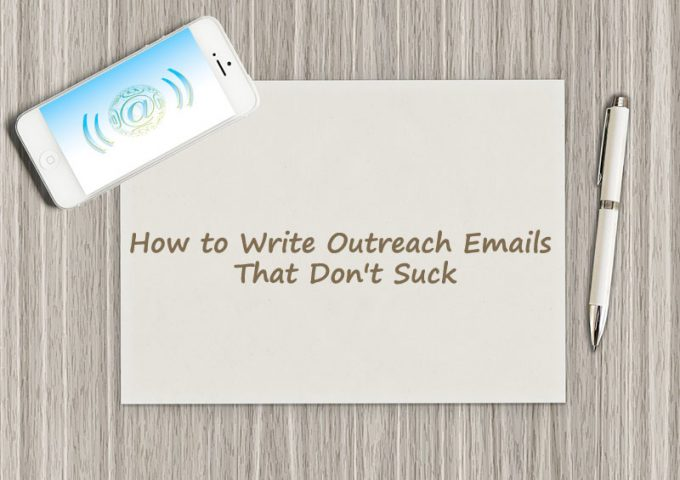 How to write outreach emails