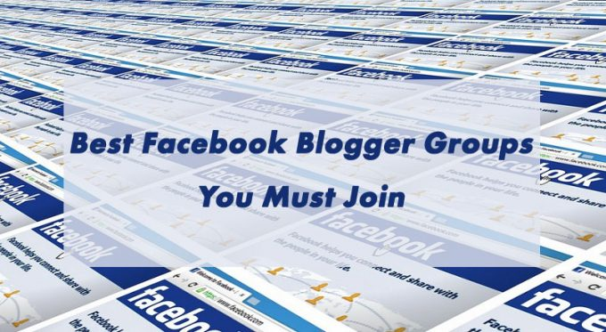 Blogger Groups