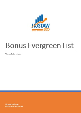 Evergreen Niches - Bonus List
