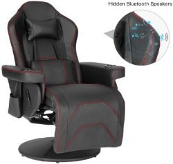 Modern-Depo Massage Video Gaming Recliner Chair - Best gaming chair with speakers